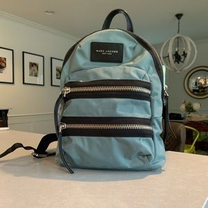 Blue Marc Jacobs Backpack